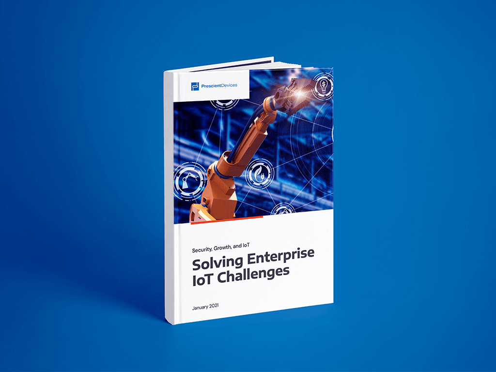 White Paper Cover - Solving Enterprise IoT Challenges