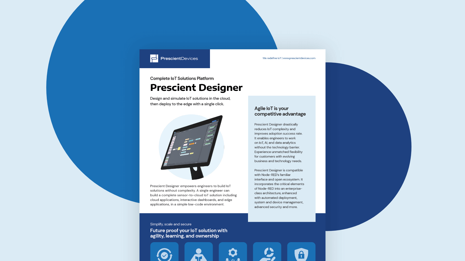 Download the Prescient Designer IoT datasheet